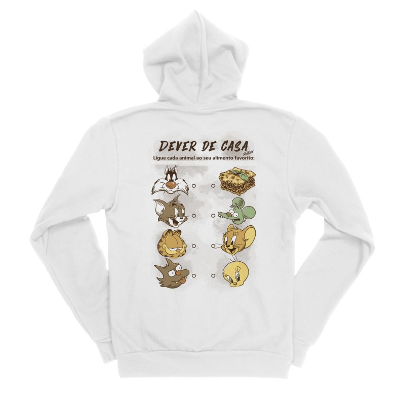 Ligue os Personagens Men's Zip-Up Hoody by Red Bug's Artist Shop
