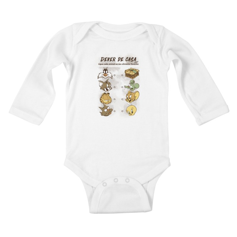 Ligue os Personagens Kids Baby Longsleeve Bodysuit by Red Bug's Artist Shop