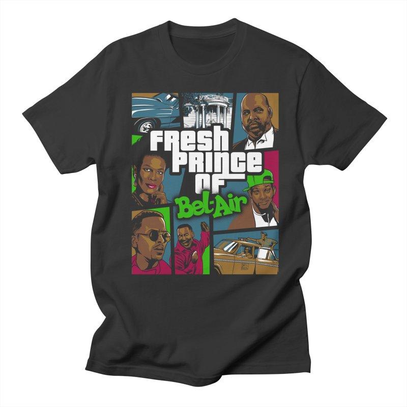 GTA Bel-air in Men's Regular T-Shirt Smoke by Red Bug's Artist Shop