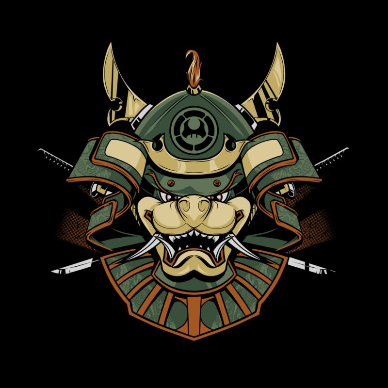 Bowser Ronin Men's T-Shirt by Red Bug's Artist Shop