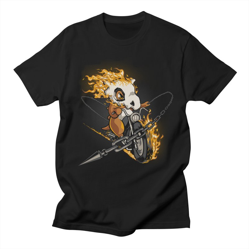 Cubone Fantasma in Men's Regular T-Shirt Black by Red Bug's Artist Shop
