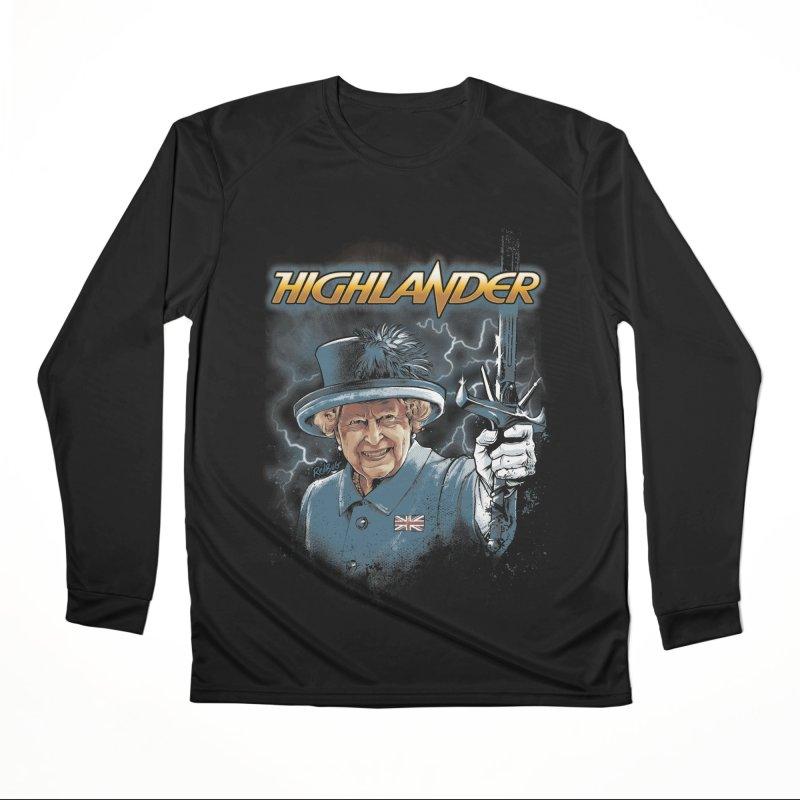 Highlander Women's Longsleeve T-Shirt by Red Bug's Artist Shop