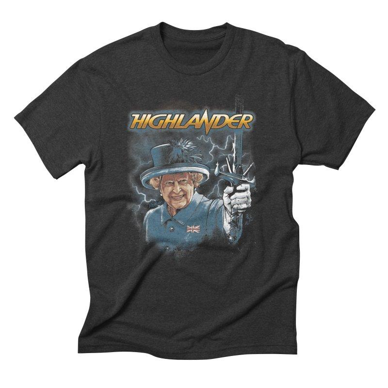 Highlander Men's T-Shirt by Red Bug's Artist Shop
