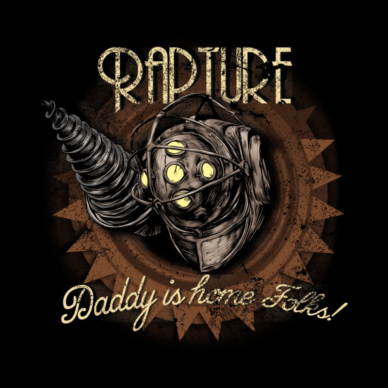 Daddy is home! Men's T-Shirt by Red Bug's Artist Shop