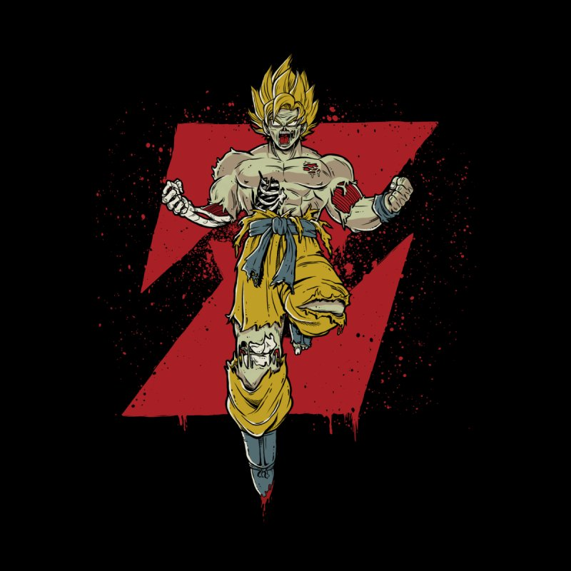 Dragon Ball Zombie Men's T-Shirt by Red Bug's Artist Shop