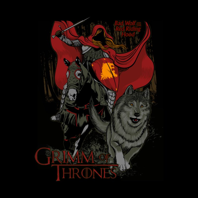 Grimm of Thrones Men's T-Shirt by Red Bug's Artist Shop