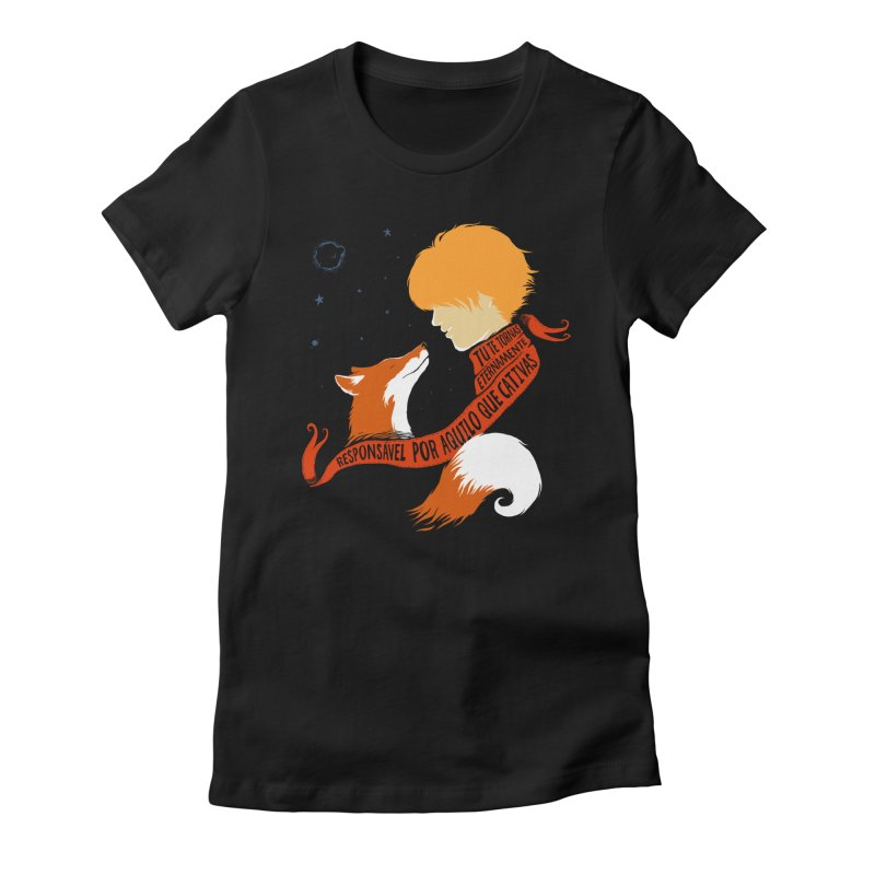 Pequeno Príncipe Women's T-Shirt by Red Bug's Artist Shop