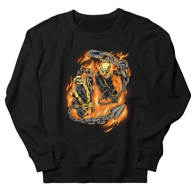 Hell Fight Men's Sweatshirt by Red Bug's Artist Shop