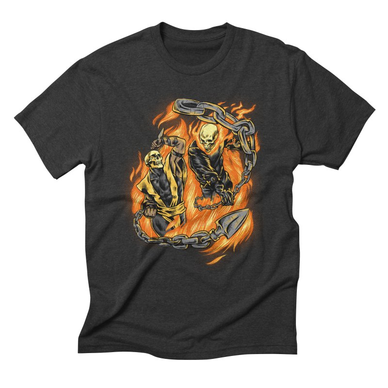 Hell Fight Men's T-Shirt by Red Bug's Artist Shop
