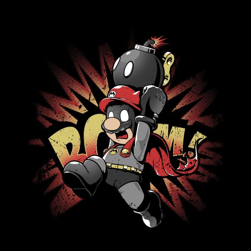 Mario Bomb Men's Sweatshirt by Red Bug's Artist Shop