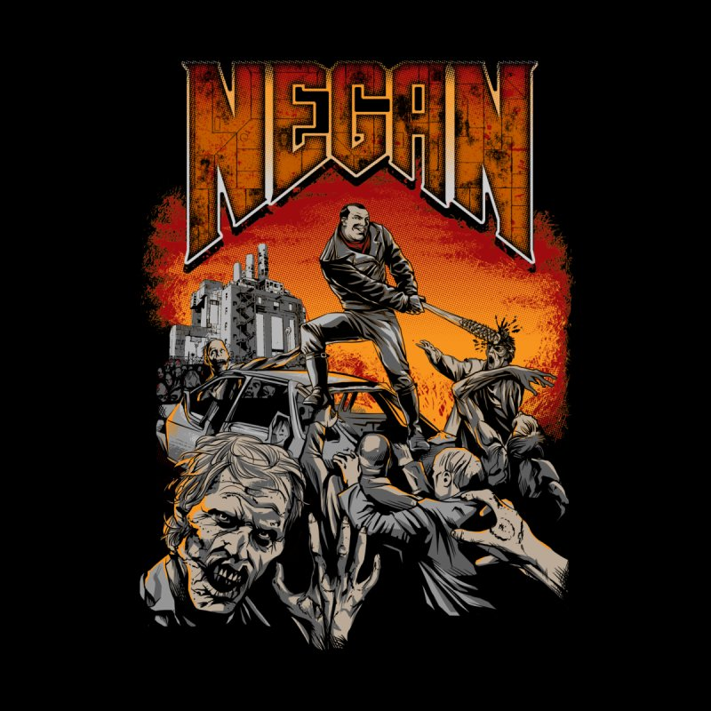 Negan Men's T-Shirt by Red Bug's Artist Shop