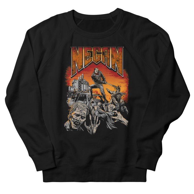 Negan Men's Sweatshirt by Red Bug's Artist Shop