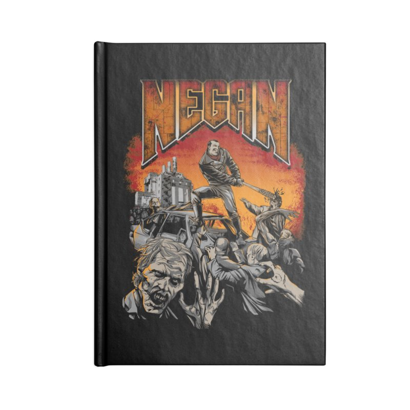 Negan Accessories Notebook by Red Bug's Artist Shop