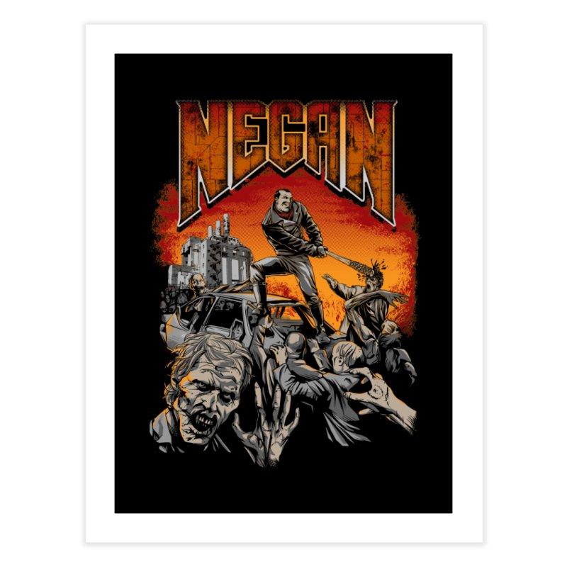 Negan Home Fine Art Print by Red Bug's Artist Shop