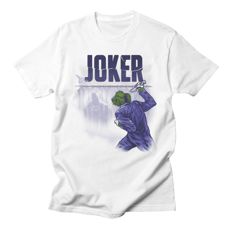 Psycho Clown Men's T-Shirt by Red Bug's Artist Shop