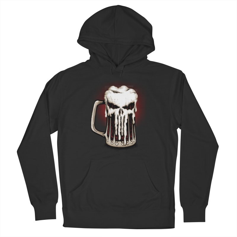 Punisher Beer Men's Pullover Hoody by Red Bug's Artist Shop
