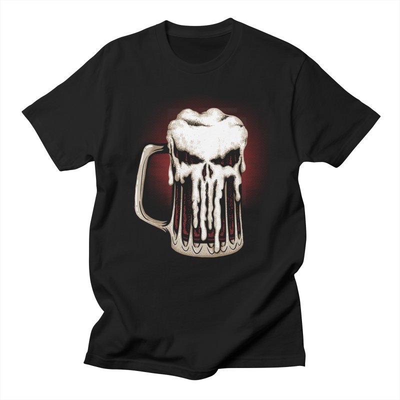 Punisher Beer Men's T-Shirt by Red Bug's Artist Shop