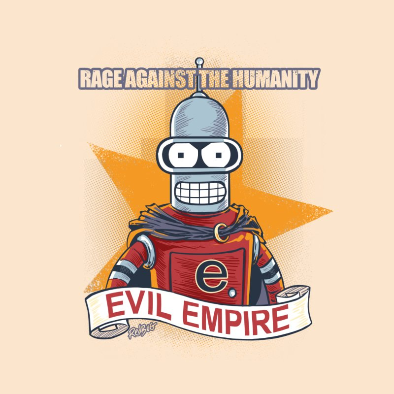 Rage Against the Humanity Men's T-Shirt by Red Bug's Artist Shop