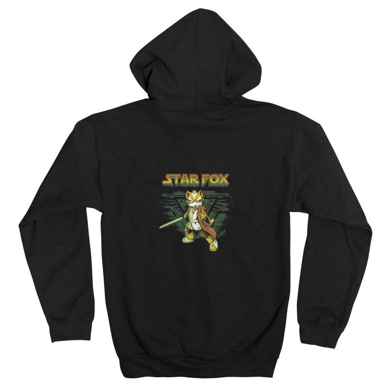 Starfox Men's Zip-Up Hoody by Red Bug's Artist Shop