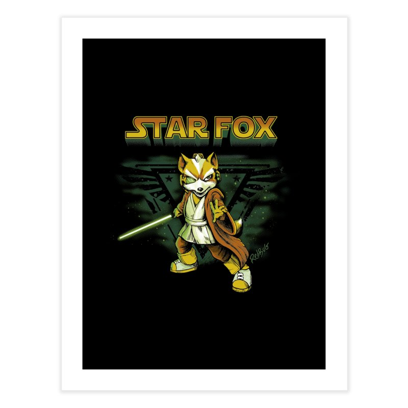 Starfox Home Fine Art Print by Red Bug's Artist Shop