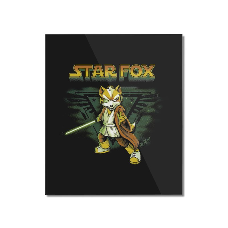Starfox Home Mounted Acrylic Print by Red Bug's Artist Shop
