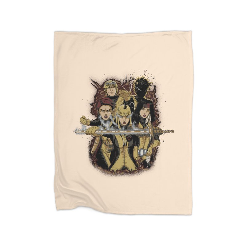 The New Mutants Home Blanket by Red Bug's Artist Shop
