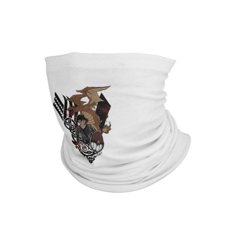 Poke Kings Accessories Neck Gaiter by Red Bug's Artist Shop