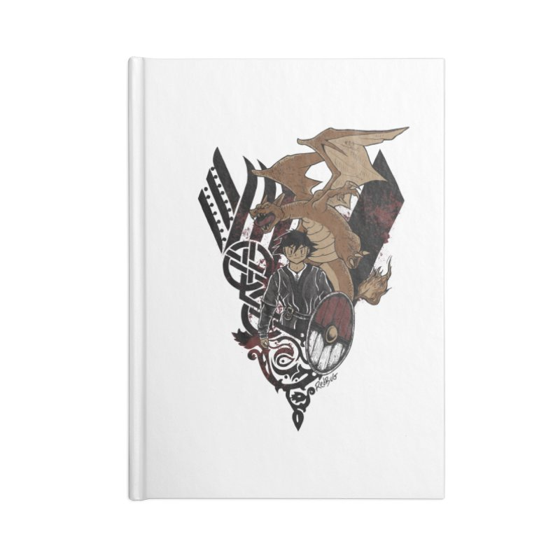 Poke Kings Accessories Notebook by Red Bug's Artist Shop
