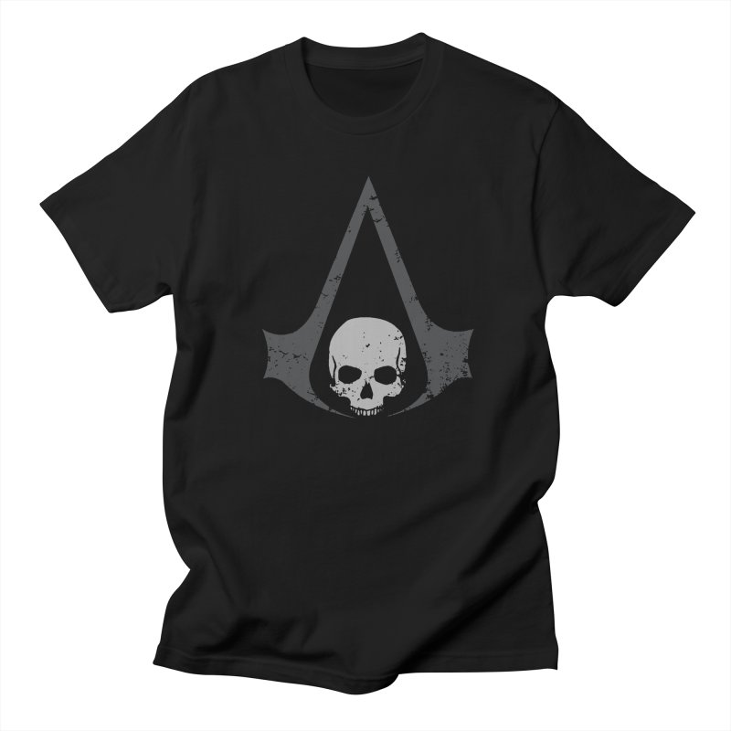 Black Flag Men's T-Shirt by Red Bug's Artist Shop