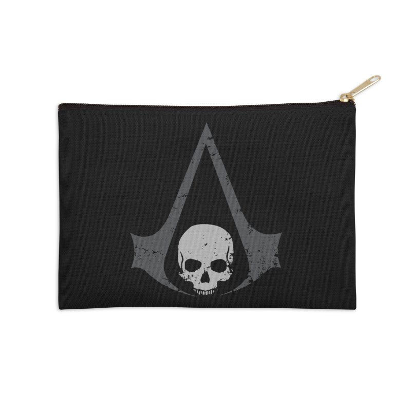 Black Flag Accessories Zip Pouch by Red Bug's Artist Shop