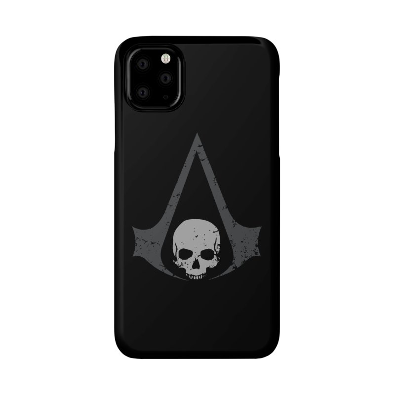 Black Flag Accessories Phone Case by Red Bug's Artist Shop