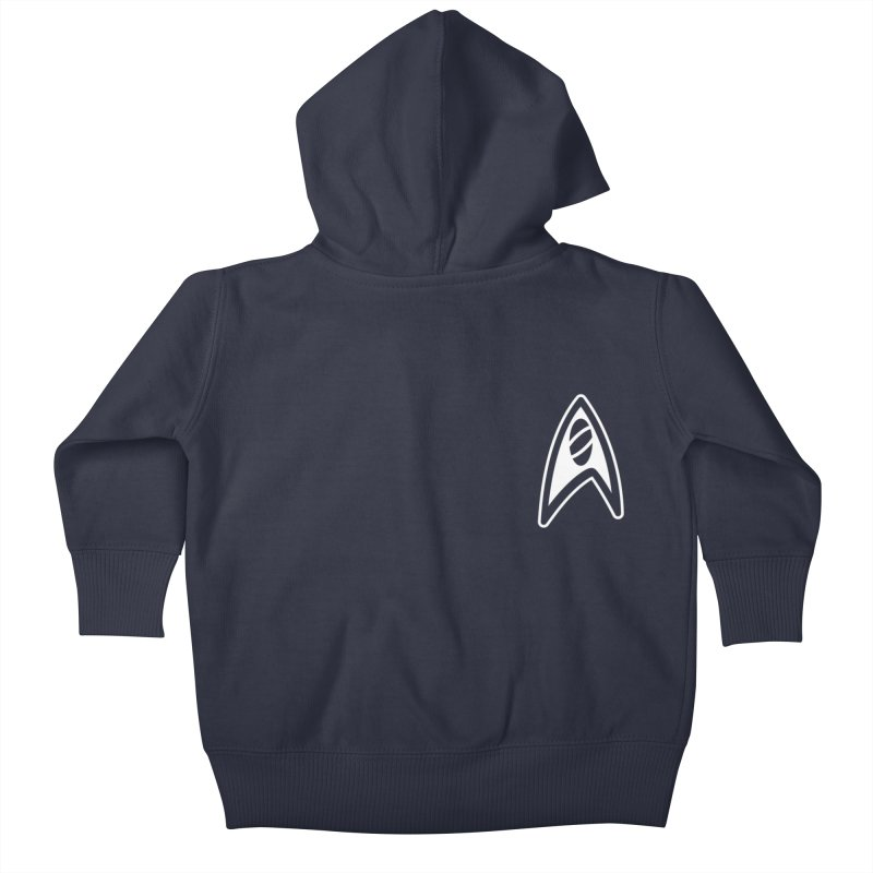 Star Trek Kids Baby Zip-Up Hoody by Red Bug's Artist Shop