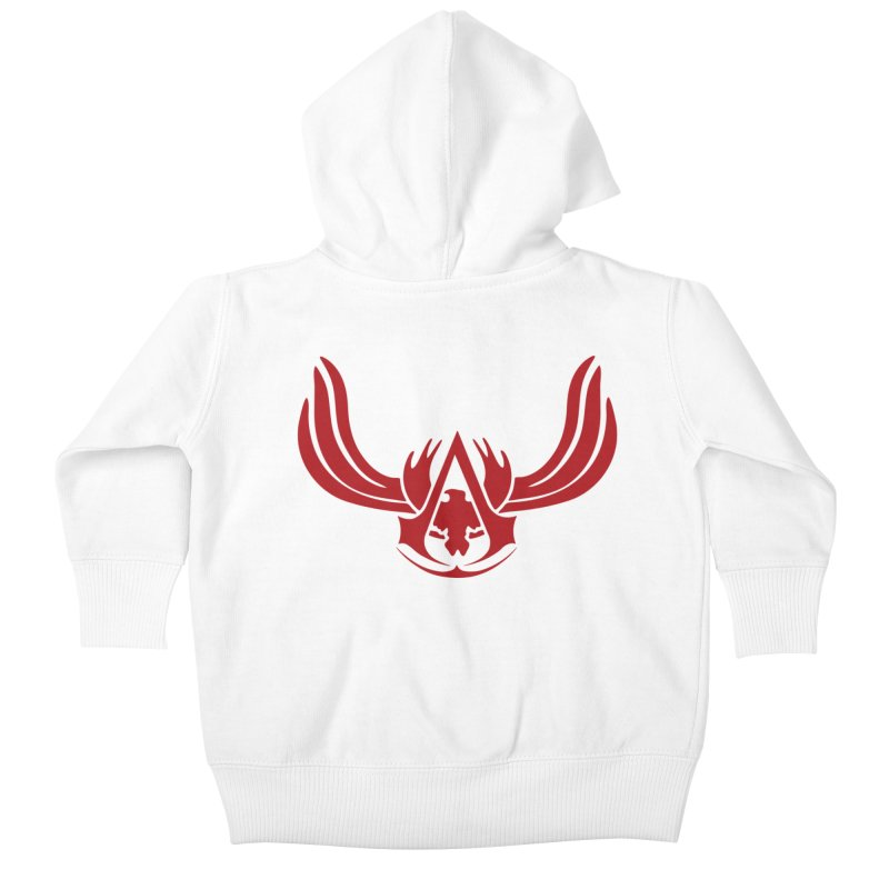Assassin's Creed Kids Baby Zip-Up Hoody by Red Bug's Artist Shop