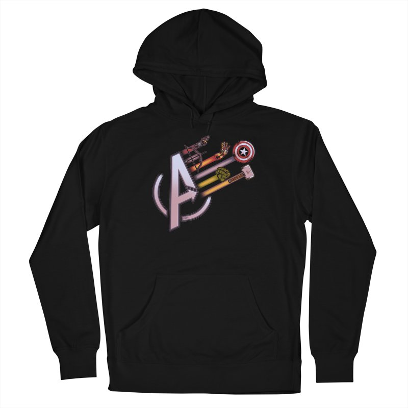 Avengers Weapons Women's Pullover Hoody by Red Bug's Artist Shop