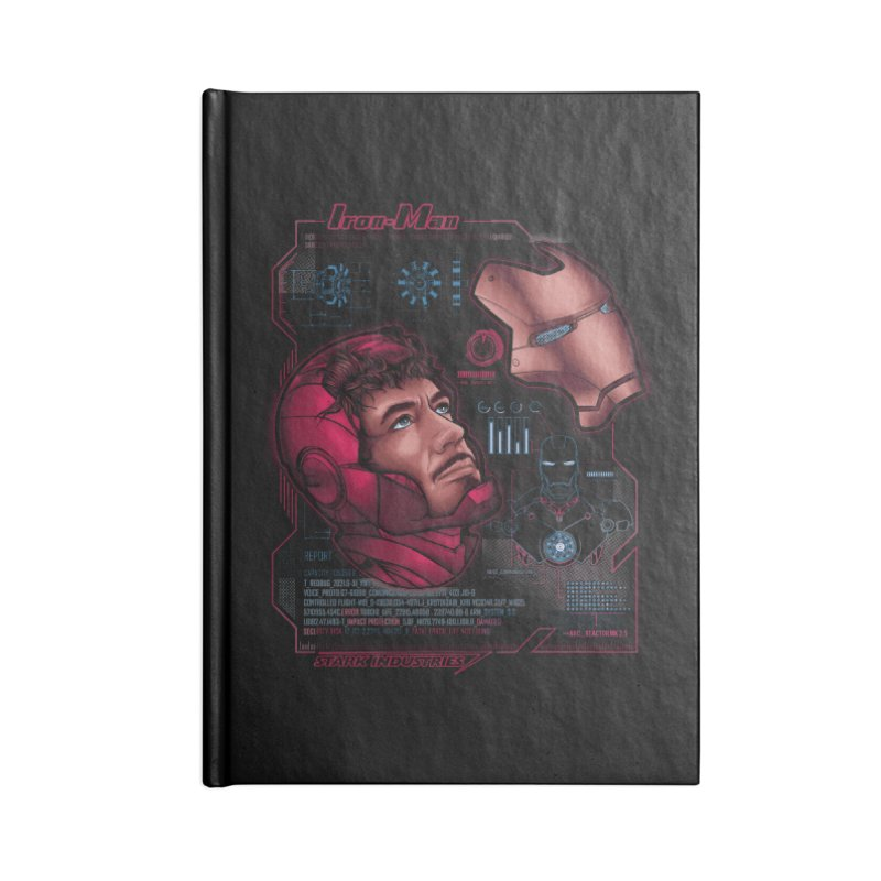 Deconstruction Accessories Notebook by Red Bug's Artist Shop
