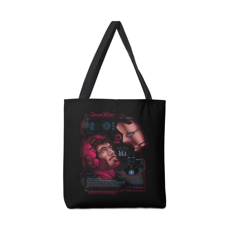 Deconstruction Accessories Bag by Red Bug's Artist Shop