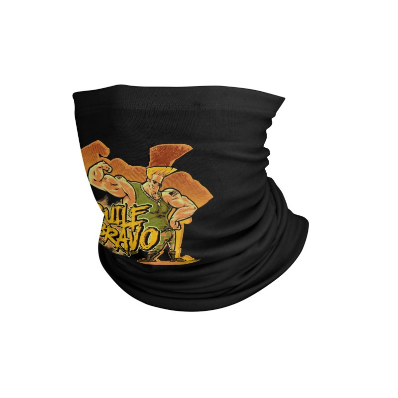 Guile Bravo Accessories Neck Gaiter by Red Bug's Artist Shop