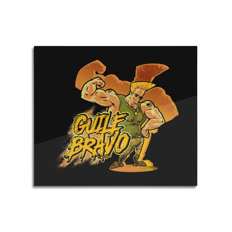 Guile Bravo Home Mounted Acrylic Print by Red Bug's Artist Shop