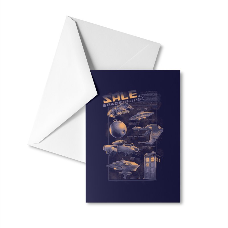 Naves Ícones Accessories Greeting Card by Red Bug's Artist Shop
