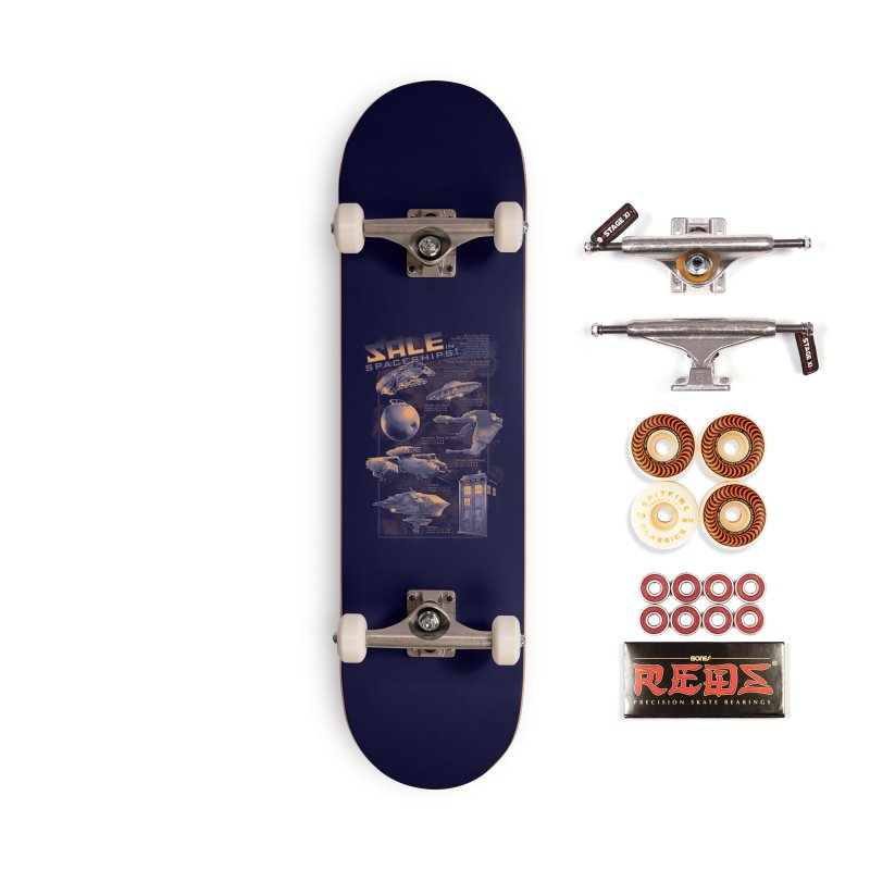Naves Ícones Accessories Skateboard by Red Bug's Artist Shop