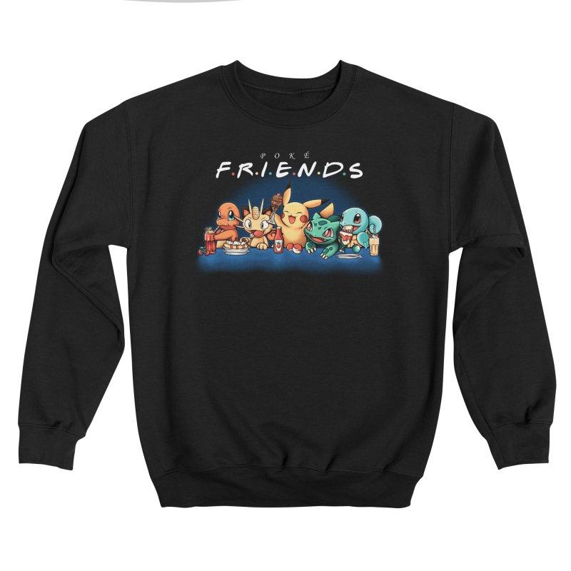PokéFriends Men's Sweatshirt by Red Bug's Artist Shop