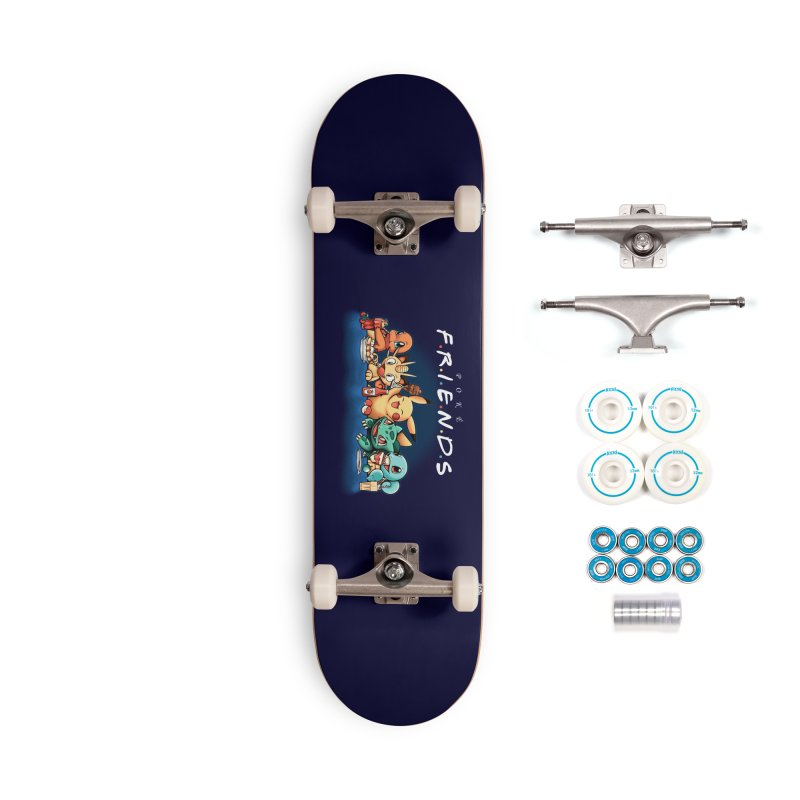 PokéFriends Accessories Skateboard by Red Bug's Artist Shop