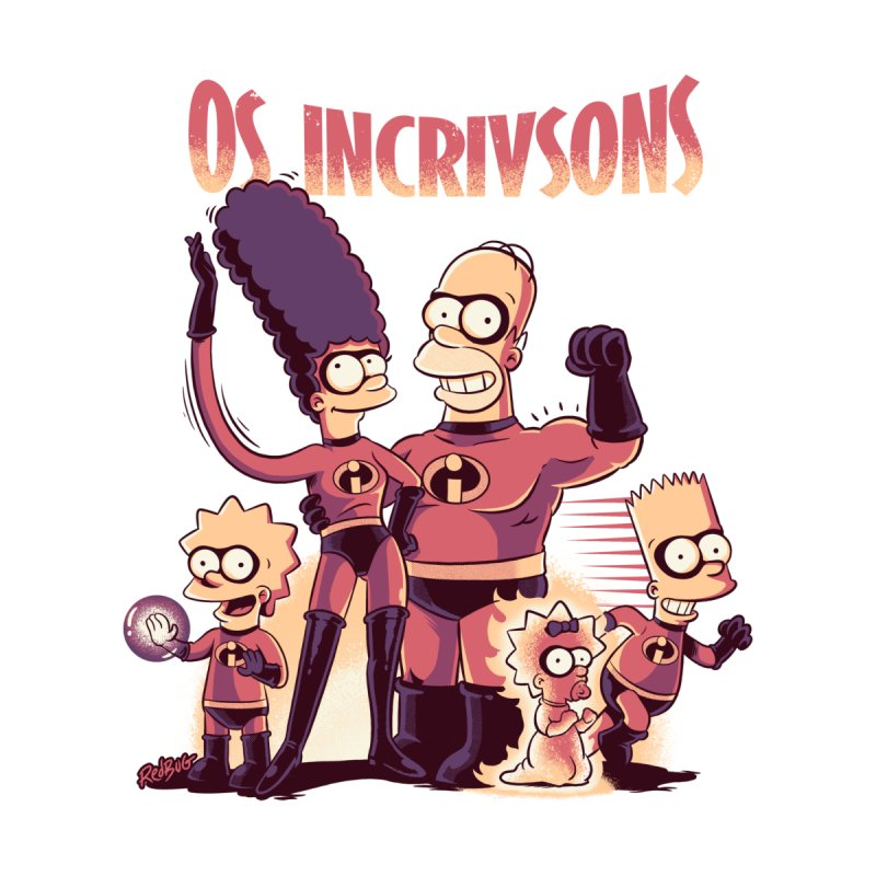 Os Incrivsons Accessories Skateboard by Red Bug's Artist Shop