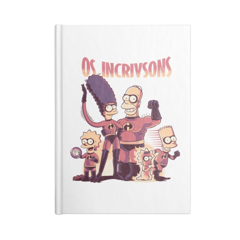 Os Incrivsons Accessories Notebook by Red Bug's Artist Shop