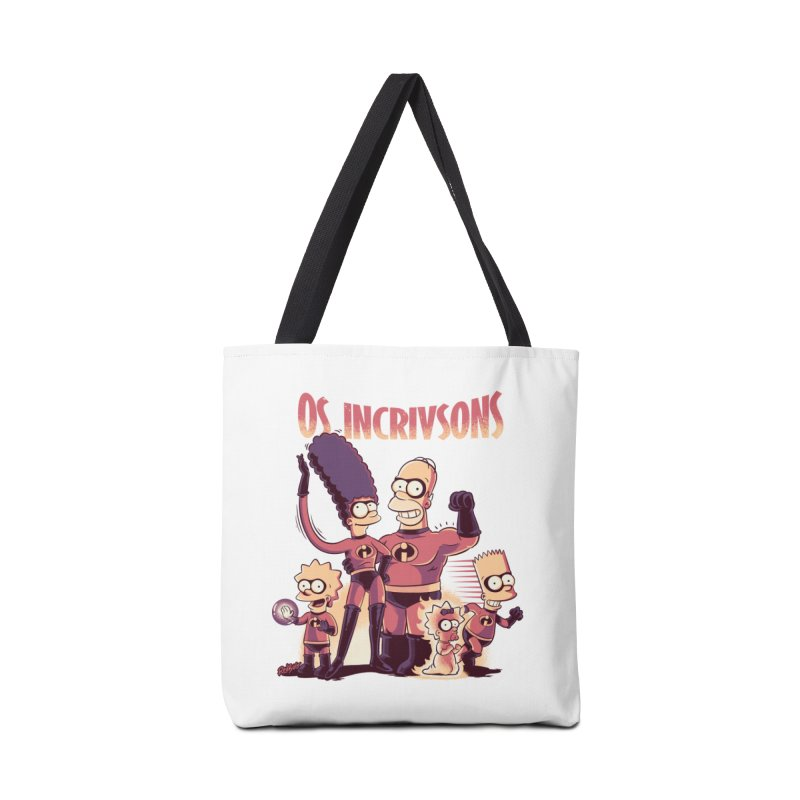 Os Incrivsons Accessories Bag by Red Bug's Artist Shop