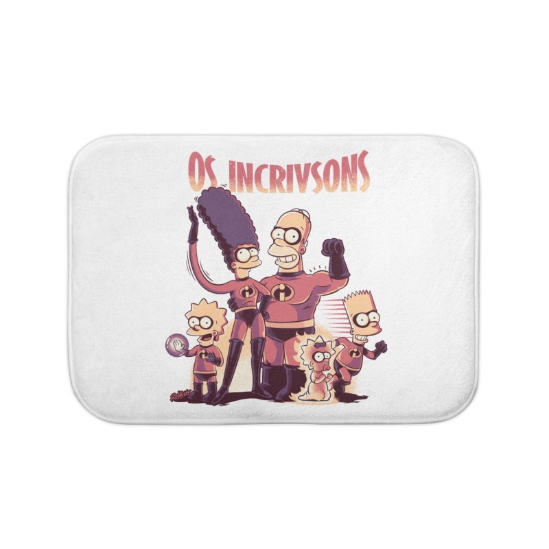 Os Incrivsons Home Bath Mat by Red Bug's Artist Shop