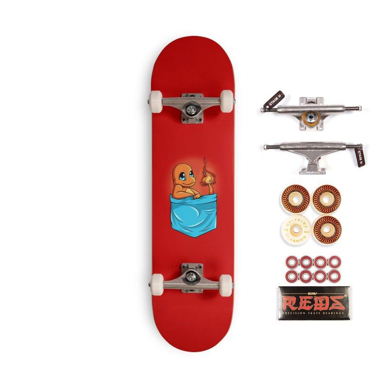 Pokétmon Charmander Accessories Skateboard by Red Bug's Artist Shop