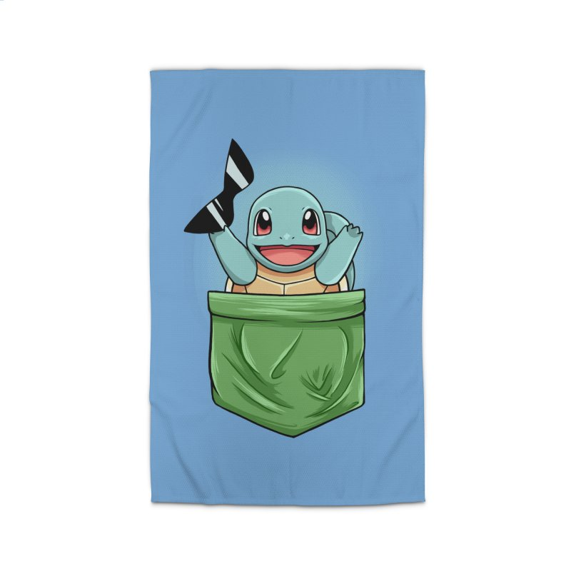 Pokétmon Squirtle Home Rug by Red Bug's Artist Shop