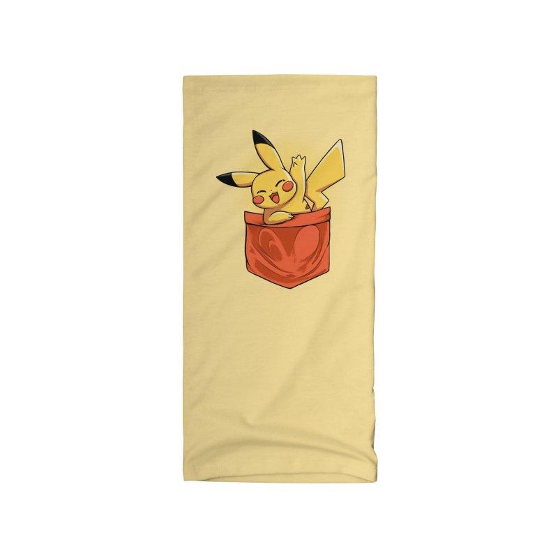 Pokétmon Pikachu Accessories Neck Gaiter by Red Bug's Artist Shop