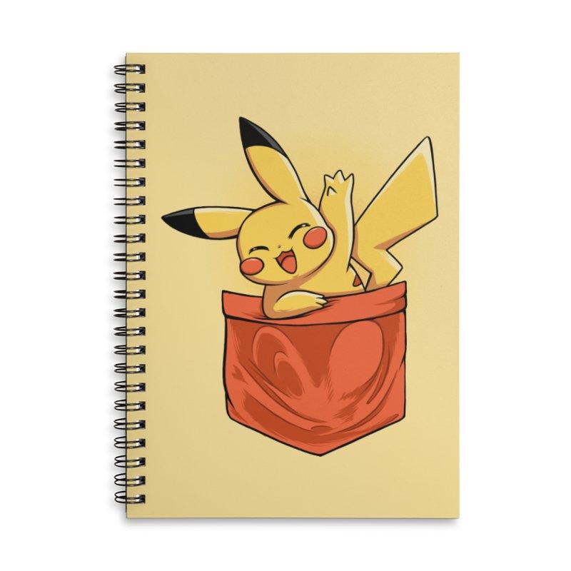 Pokétmon Pikachu Accessories Notebook by Red Bug's Artist Shop